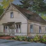 Art Scholz Watercolor Print